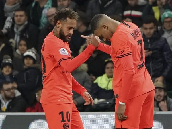 Neymar a Kylian Mbappé