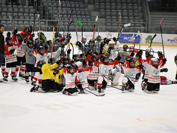 Mladí hokejisti Spartaka Bánovce nad Bebravou