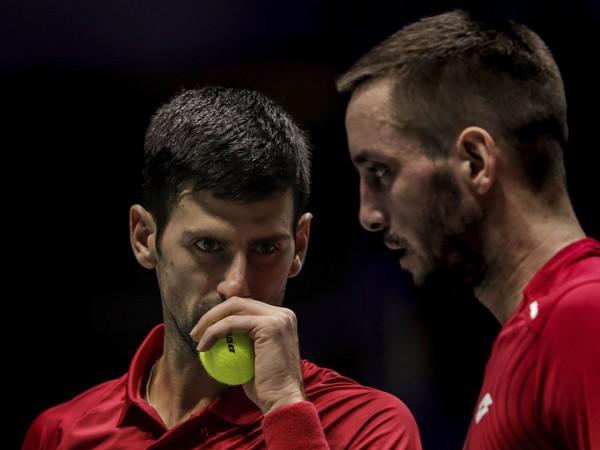 Novak Djokovič a Viktor Troicki