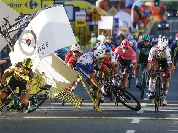 Fabio Jakobsen utrpel vážne zranenia v prvej etape na Okolo Poľska