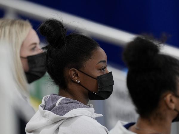 Americká gymnastka Simone Bilesová