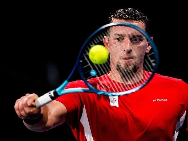 Belgický tenista na vozíku Joachim Gérard