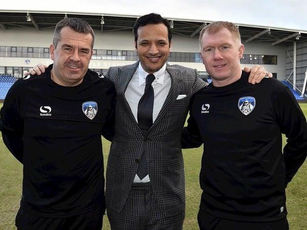 Paul Scholes sa stal manažérom Oldhamu Athletic