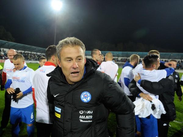 Šťastná tvár Hapala po postupe Slovenska na ME 21