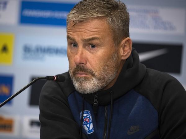 Tréner slovenskej reprezentácie Pavel Hapal