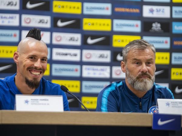 Marek Hamšík a Pavel Hapal