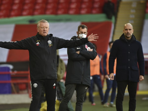 Chris Wilder a Pep Guardiola