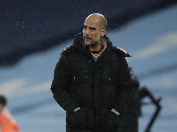 Tréner Manchestru City Pep Guardiola