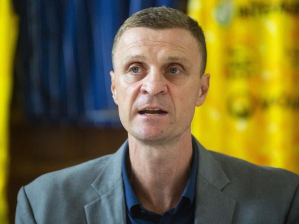 Na snímke riaditeľ Slovenskej basketbalovej ligy Peter Mičuda