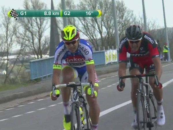 Peter Sagan na pretekoch Okolo Flámska