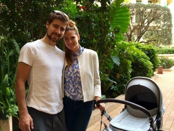 Peter Sagan s manželkou Katkou