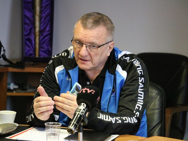 Tréner Petr Koutný