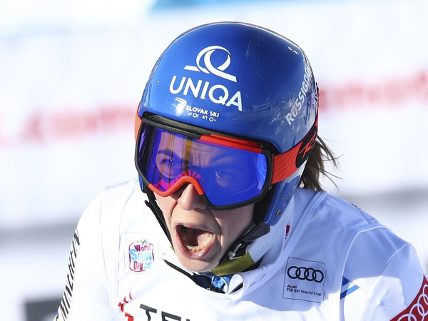 Petra Vlhová víťazkou obrovského slalomu v Sestriere
