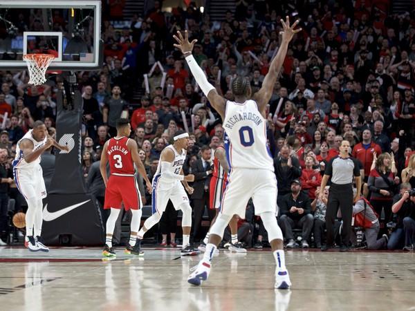 Radosť basketbalistov Philadelphie