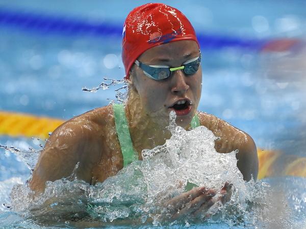 Slovenská plavkyňa Andrea Podmaníková