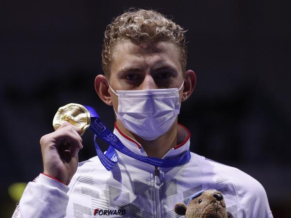 Ruský plavec Iľja Borodin