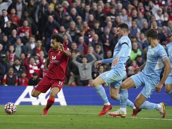 Hráč Liverpoolu Mohamed Salah
