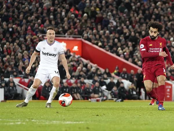 Mohamed Salah a Mark Noble