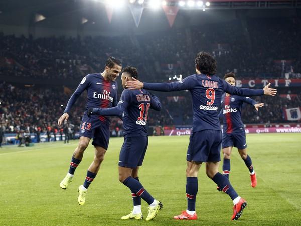 Radosť hráčov PSG
