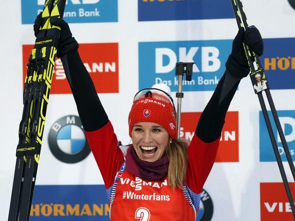Slovenská  biatlonistka Paulína
