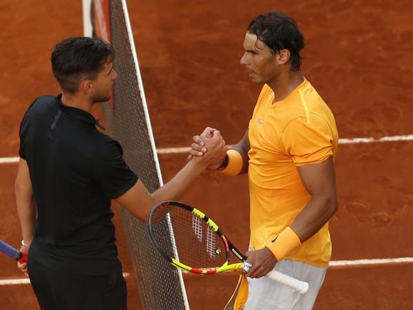 Dominic Thiem a Rafael Nadal