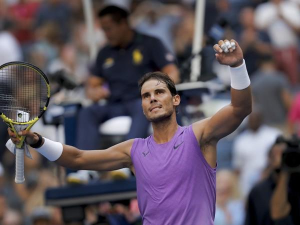 Rafael Nadal a jeho víťazná radosť