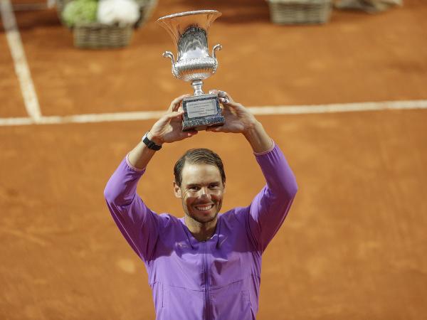 Rafael Nadal víťazom turnaja v Ríme