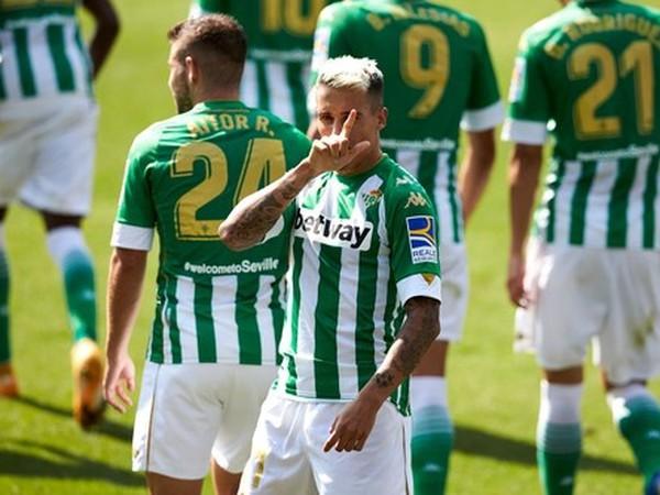 Cristian Tello oslavuje strelený gól