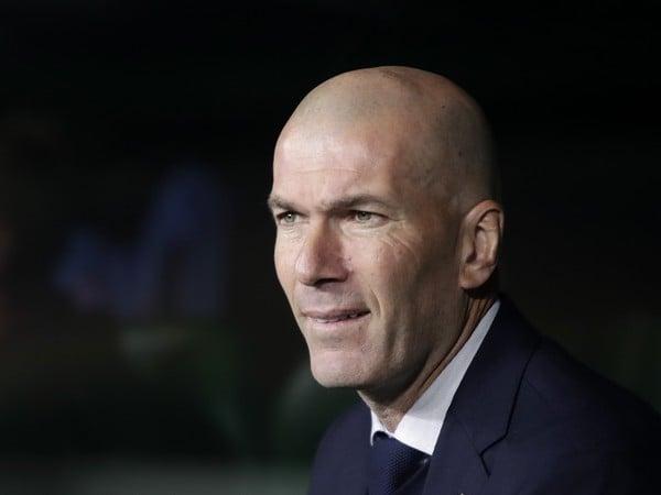 Tréner Realu Madrid Zinedine Zidane