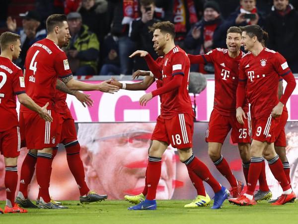 Gólové oslavy futbalistov Bayernu