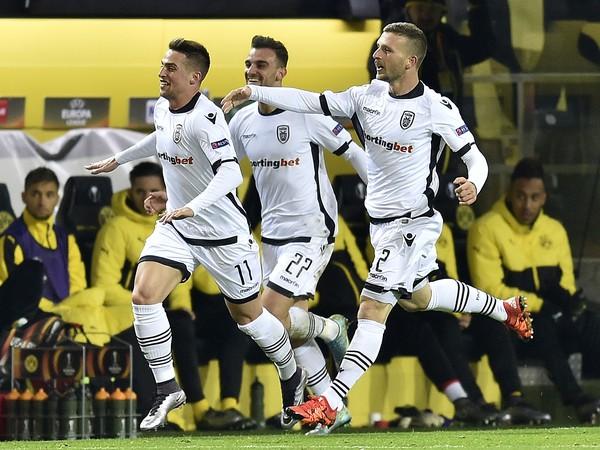 PAOK oslavuje Makov gól