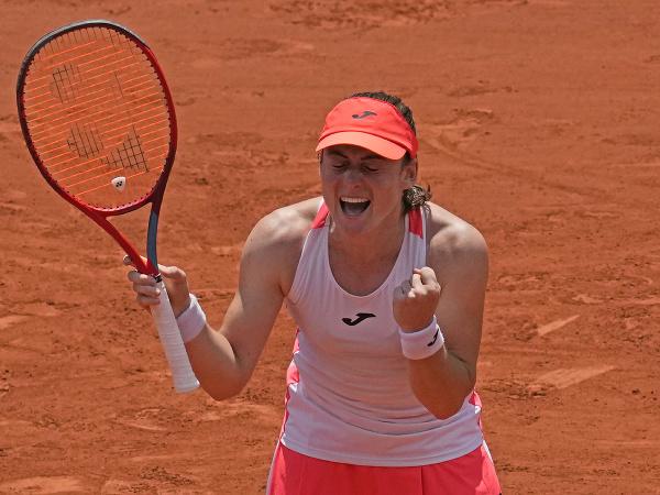 Slovinská tenistka Tamara Zidanšeková