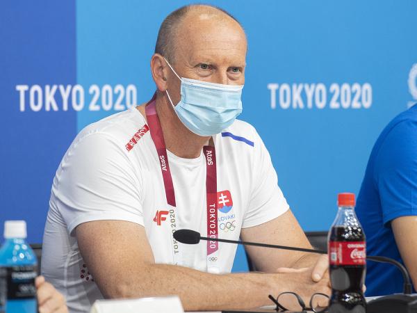Vedúci výpravy športovcov Slovenska Roman Buček