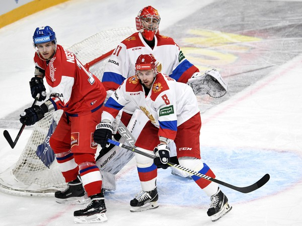 Andrej Nestrašil v drese českej hokejovej reprezentácie