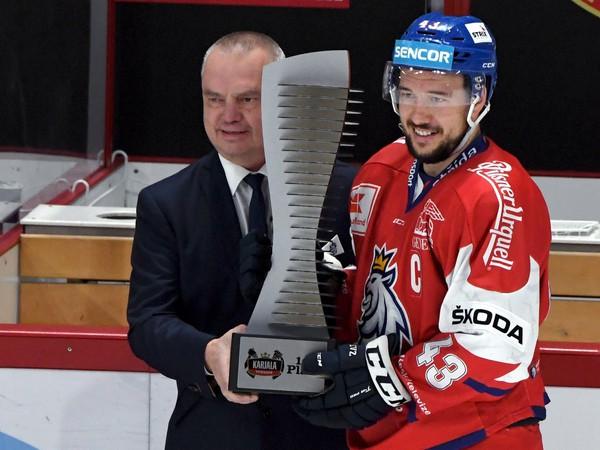 Jan Kovář s víťaznou trofejou