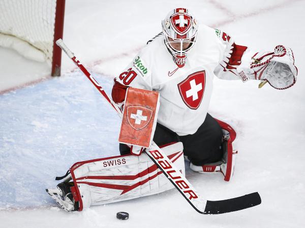 Švajčiarska brankárka Andrea Braendli