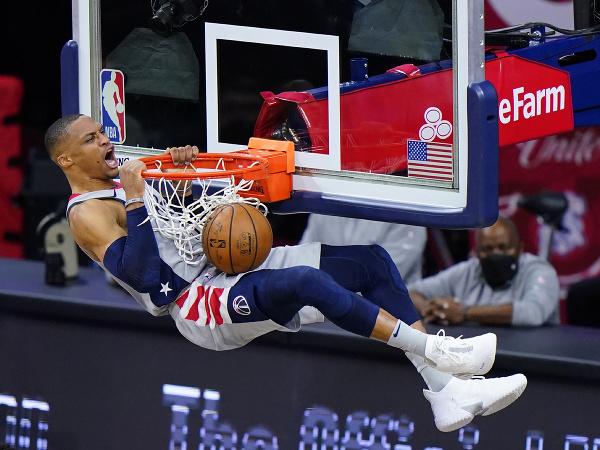 Basketbalista Washingtonu Wizards Russell Westbrook
