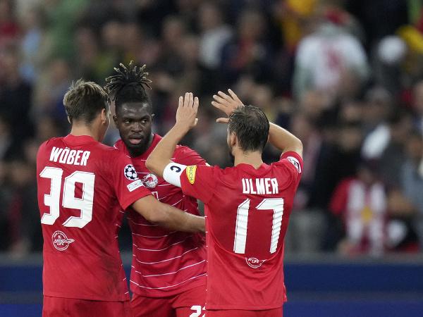 Radosť futbalistov Salzburgu