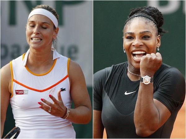 Dominika Cibulková a Serena Williamsová