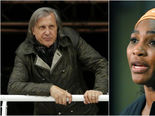 Ilie Nastase a Serena Williamsová