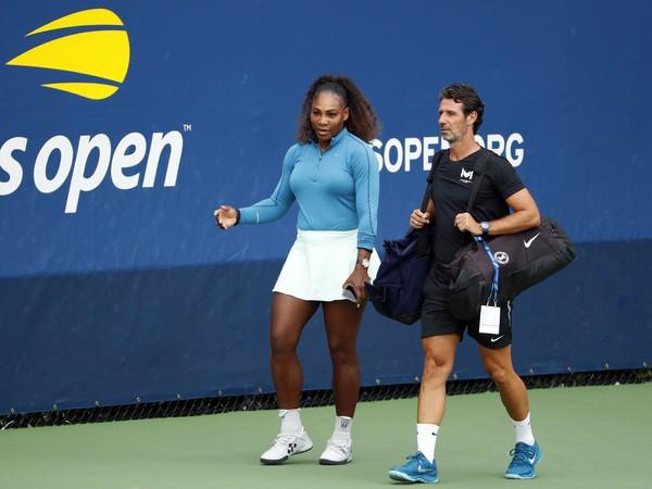 Serena Williamsová a Patrick Mouratoglou