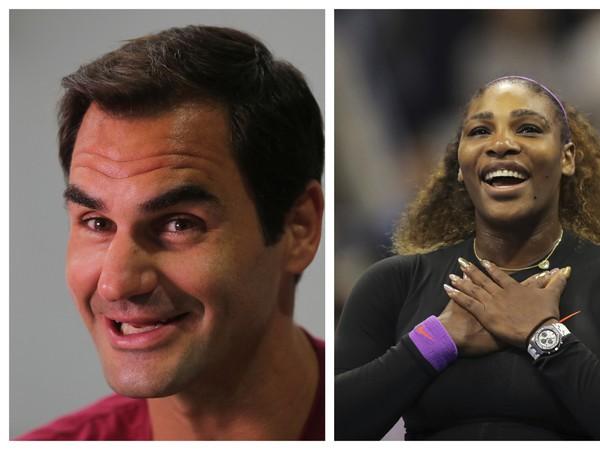 Roger Federer, Serena Williamsová a Rafael Nadal