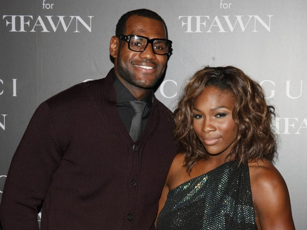 LeBron James a Serena Williamsová. Najlepší športovci uplynulého roka.