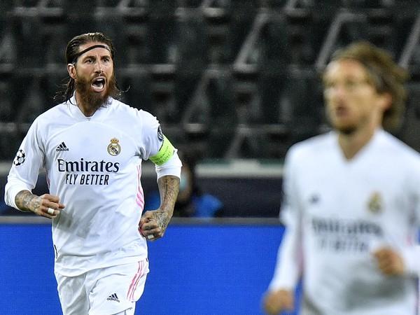 Opora Realu Madrid Sergio Ramos
