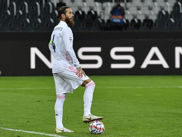 Kapitán Realu Madrid Sergio Ramos