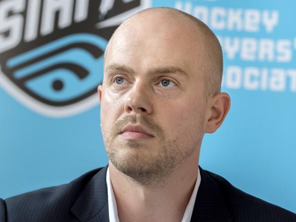 Prezident Slovenskej asociácie hráčov ľadového hokeja (SIHPA) Oliver Pravda