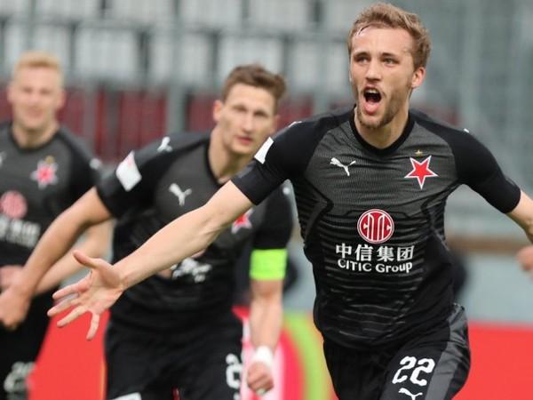 Tomáš Souček a jeho gólové oslavy