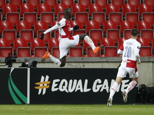 Abdallah Sima a jeho gólové oslavy