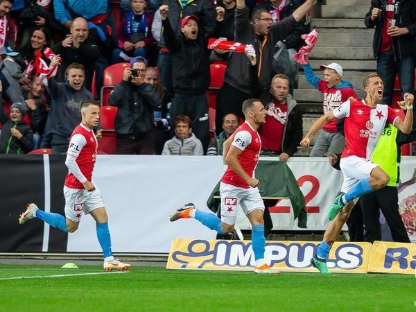 Slavia Praha v derby zahanbila majstra z Plzne