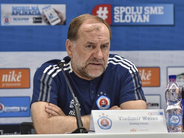Tréner ŠK Slovan Bratislava Vladimír Weiss st.